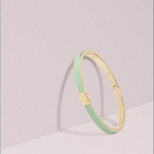 Kate Spade ♠️ Heritage Spade Thin Enamel bracelet